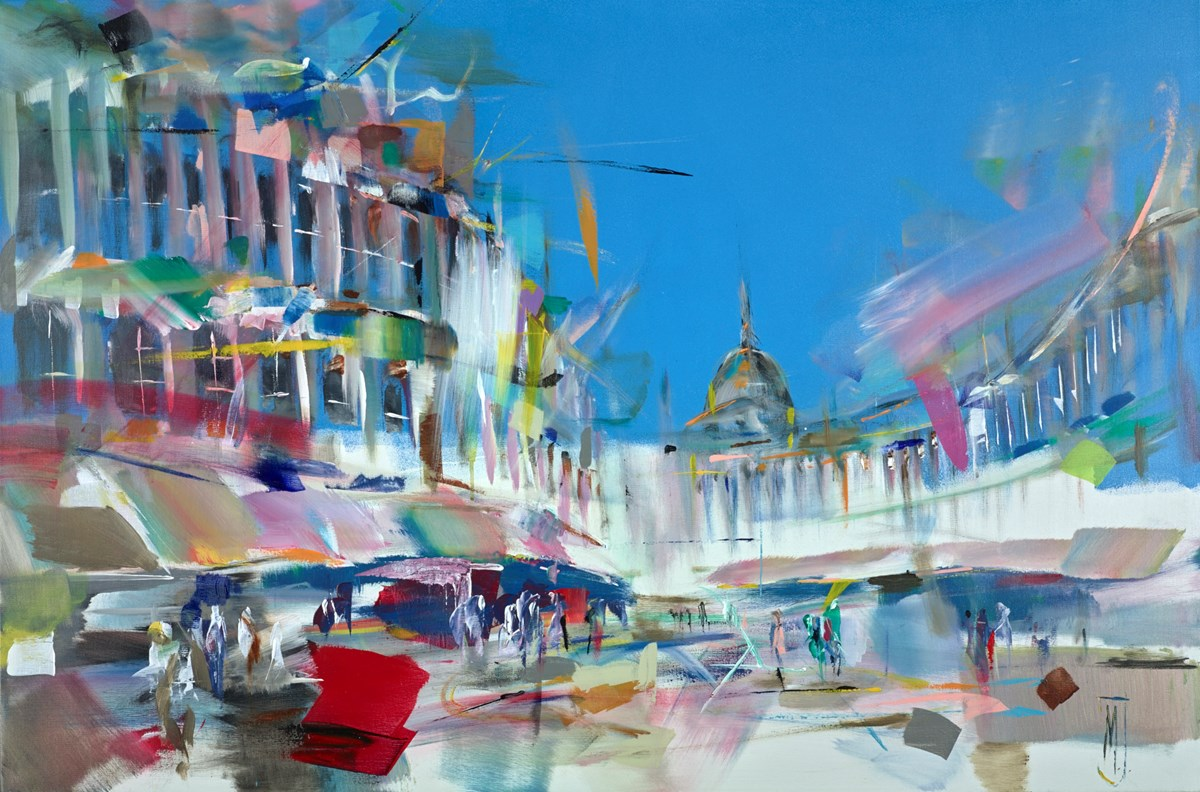 When Everything Goes Well by marijus jusionis -  sized 47x31 inches. Available from Whitewall Galleries